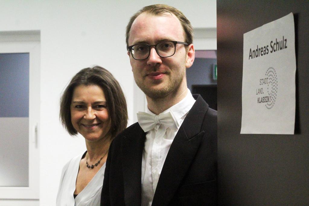 Claudia Schneider und Andreas Schulz sind die Organisatoren der Konzertreihe Stadt.Land.Klassik!